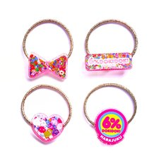 6%DOKIDOKI Colorful Rebellion/Logo Elastic Hair Tie