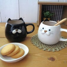 Plump Cat Mugs