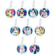 Love Live! Sunshine!! Reflector Keychain Charm: Koi ni Naritai Aquarium Plushie Ver. Box Set