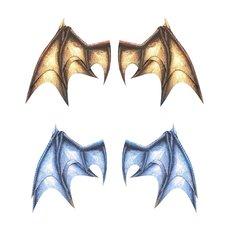 Pepatama Papercraft Wing Set A: Dragon Wings