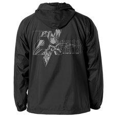 No Game No Life: Zero Schwi Black Hooded Windbreaker