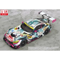 Good Smile 1/18 Scale Hatsune Miku AMG: 2018 Final Race Ver.
