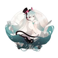Hatsune Miku x Rella Acrylic Keychain: The Restaurant of Many Orders