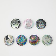 Junji Ito R4G Uzumaki Psychedelic Pin Badge