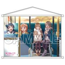 Love Live! Sunshine!! Aqours You & Hanamaru B2-Size Tapestry
