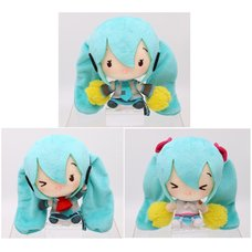 Hatsune Miku Cute Plush: Cheering Ver.