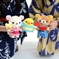 Rilakkuma's Summer Vacation Collectable Plush Collection