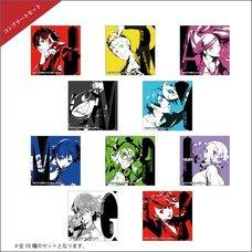 Persona 5 Royal Square Trading Pin Badge Complete Box Set