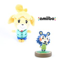 "Animal Crossing Isabelle 8"" Plushie w/ Free Mabel amiibo"