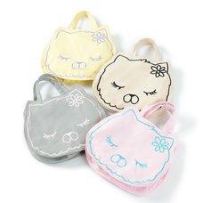 Oshamana Mie-chan Canvas Mini Tote Bags