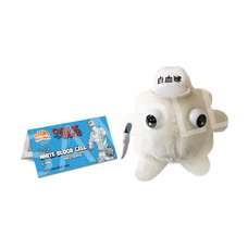 Cells at Work! x GIANTmicrobes White Blood Cell Plush