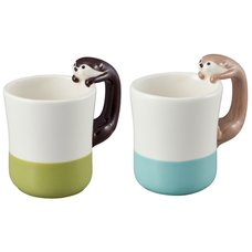 Kawauso Cafe Otter Mug