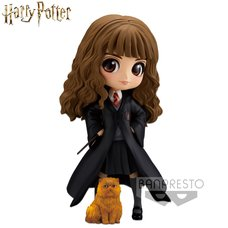 Q Posket Harry Potter Hermione Granger w/ Crookshanks