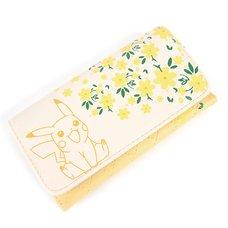Pokémon Pikachu Floral Jrs. Flap Wallet