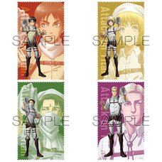 Attack on Titan: Cleaning Ver. Cleaning Cloth Collection