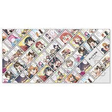 Nijiyon -Love Live! Nijigasaki High School Idol Club Yon Koma- General Election Selected Panels Bath Towel