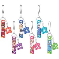 Touhou Project Phone Strap Collection