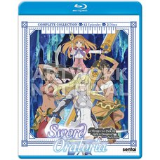 Sword Oratoria: Is It Wrong to Try to Pick Up Girls in a Dungeon? Blu-ray