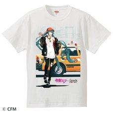 Hatsune Miku x Cassette Store Day Taxi T-Shirt
