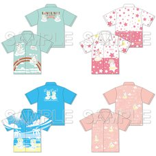 Love Live! Sunshine!! Summer Vacation Aloha Shirt Collection