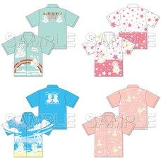 Love Live! Sunshine!! Summer Vacation Aloha Shirt Collection