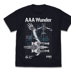 Evangelion AAA Wunder Dark Navy T-Shirt