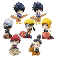 Petit Chara Land Naruto Shippuden New Color! Kuchiyose no Jyutsu Dattebayo! Box Set w/ Bonus