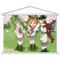 Love Live! Sunshine!! Aqours Second-Year Students B2-Size Tapestry