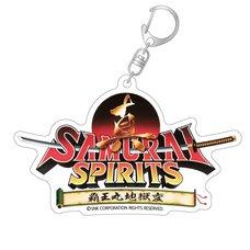 Shin Samurai Spirits Title Logo Acrylic Keychain