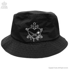 LISTEN FLAVOR Heart Planet Bucket Hat