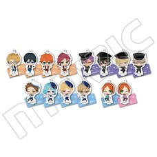 Ensemble Stars! Acrylic Keychain & Stand Collection Box Set A