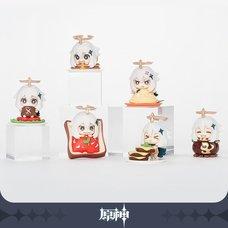 Genshin Impact Paimon is NOT EMERGENCY FOOD! Paimon Mascot Figure Collection Set