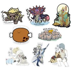 Capcom x B-Side Label Monster Hunter Sticker Collection Vol. 4