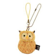 Irotoridori Horned Owl Keychain Strap