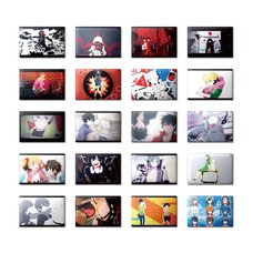 Kagerou Project Rectangular Trading Badge Collection