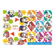Crayon Shin-chan x Love Live! Sunshine!! Clear File