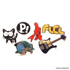 FLCL Gatcha Pin Collection
