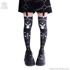 LISTEN FLAVOR Occultic Knee-High Socks