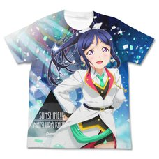 Love Live! Sunshine!! Kanan Matsuura Mirai Ticket Ver. White Graphic T-Shirt