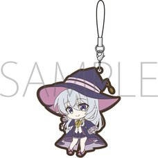 Wandering Witch: The Journey of Elaina Elaina: Witch's Hat Ver. Rubber Strap