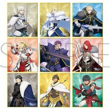 Fate/Grand Order -Divine Realm of the Round Table: Camelot- Mini Shikishi Board Collection Box Set