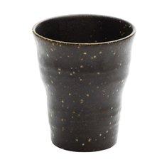 Brown Glaze Mino Ware Beer Cup