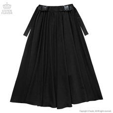 LISTEN FLAVOR Swallowtail Long Skirt