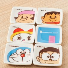 Doraemon 8-Piece Small Plate Set