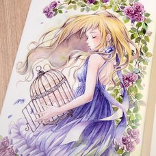 "Izmi Toyoda Illustration Collection ""Fragile Flower"""