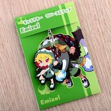 Disgaea 4 - Emizel Rubber Character Strap