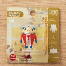 Pin Jack Mascot - Persona 4 Arena Teddie (Smiling)