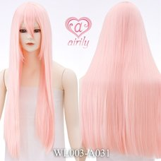 Long, Straight Strawberry Mix Wig
