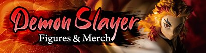 Demon Slayer Figures & Merch
