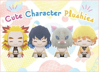 Cute Character Plushies